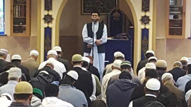 Prayers were said by worshippers in the UK after the Mecca stampede tragedy