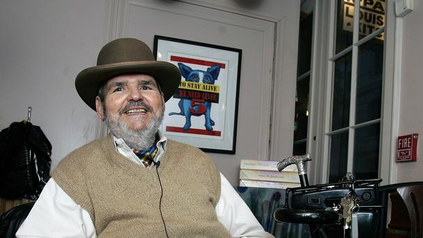 Cajun chef Paul Prudhomme at his French Quarter restaurant, K-Paul's Louisiana Kitchen ,in New Orleans in 2007 (AP)
