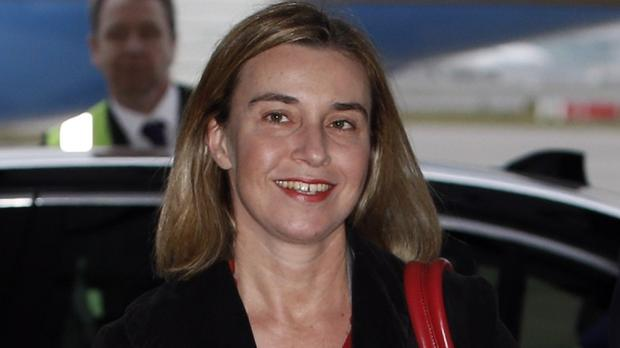 EU foreign policy chief Federica Mogherini said Russia's involvement 'has some very worrying elements'
