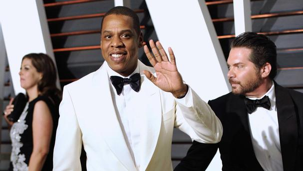 Jay Z spent about 90 minutes testifying in a federal courtroom. (AP)