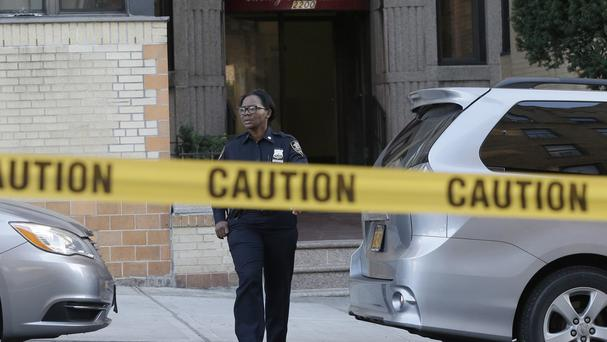 The incident happened at an apartment building in the Bronx. (AP)