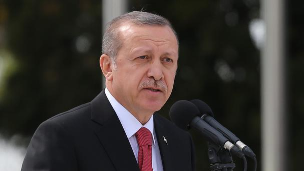 Recep Tayyip Erdogan did not address the refugee deal but accused the EU of being insincere about Turkey's membership