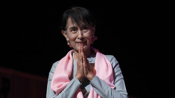Aung San Suu Kyi has shifted her election campaign to a region that presents the most formidable challenge