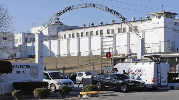 The Oklahoma State Penitentiary in McAlester. (AP)