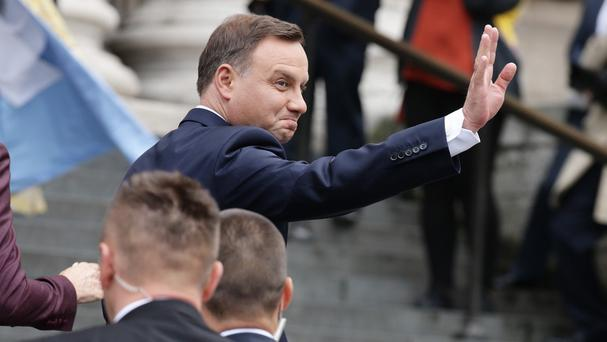 The right-wing Law and Justice party has the backing of president Andrzej Duda