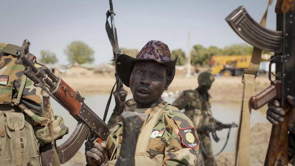 Hundreds of Nuer men were rounded up and shot in the conflict, and the report said perpetrators also tortured their victims (AP)