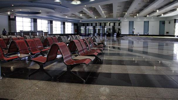 Vladimir Putin suspended all flights to Egypt, including to the Sharm el-Sheikh Airport, on Friday amid security concerns (AP)
