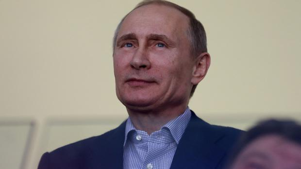 Vladimir Putin said Russia does not want to enter an arms race