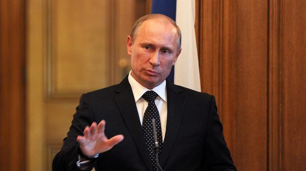 Russian president Vladimir Putin's spokesman said the nuclear weapon plan should not have been aired