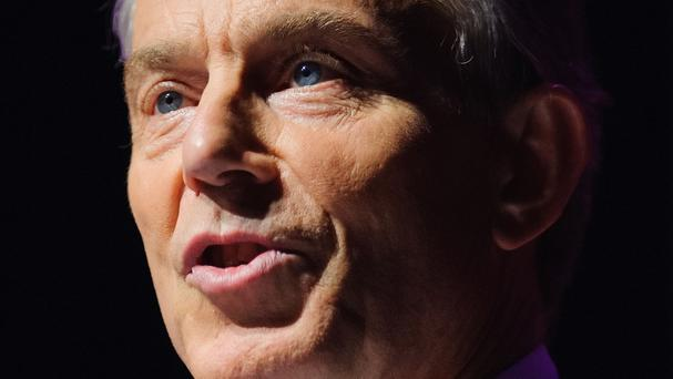 Tony Blair has launched a new initiative to promote Israeli-Palestinian peace