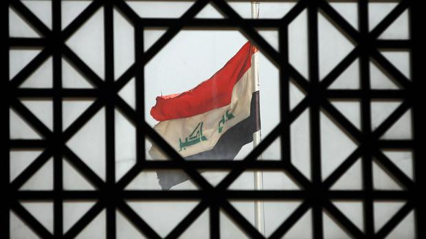 A suicide bomber has killed 17 people in Baghdad