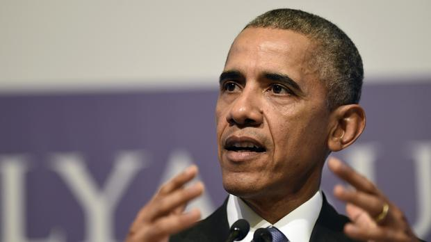 US president Barack Obama speaks during a news conference following the G-20 Summit in Antalya, Turkey (AP)
