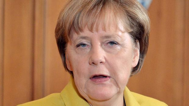 Angela Merkel had been expected to attend the game