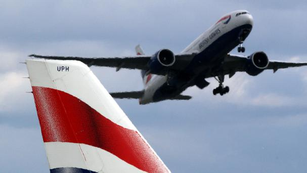 The alleged incident took place on board a London-to-Boston British Airways flight