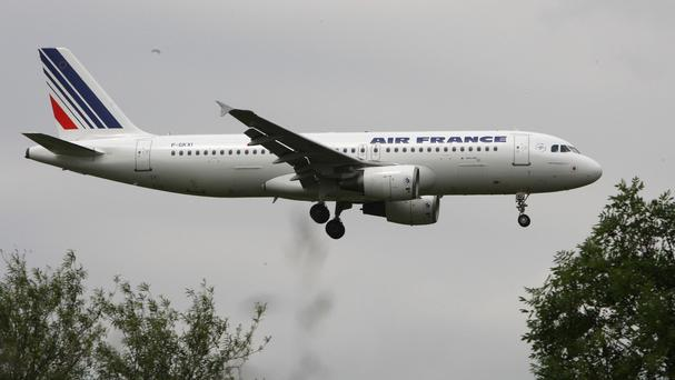 An Air France plane was diverted after a bomb threat