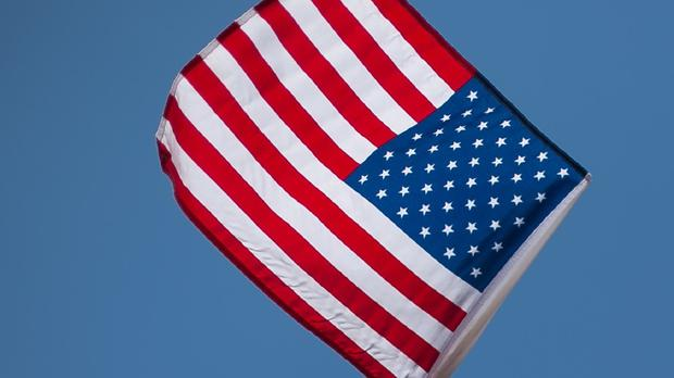 US flag (stock photo)