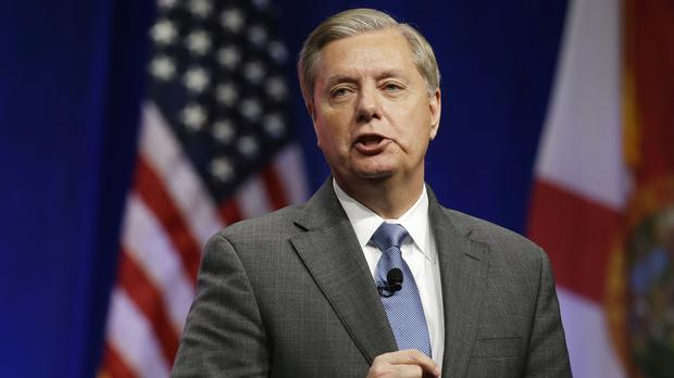 Republican senator Lindsey Graham is to propose a new authorisation for military force against IS (AP)