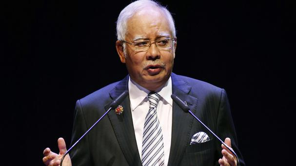 Malaysia's prime minister Najib Razak said the evil ideology of IS must be defeated (AP)
