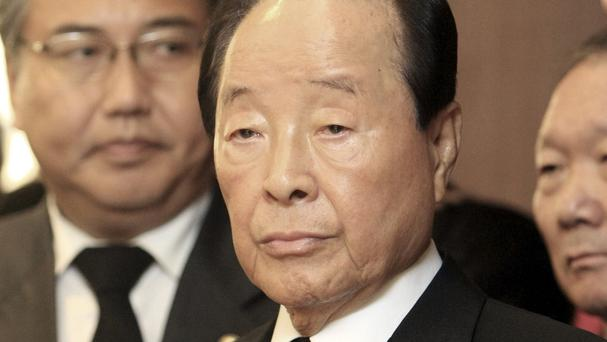 Former South Korean president Kim Young-sam has died (AP)