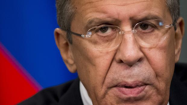 Russian foreign minister Sergey Lavrov has announced that Russia will suspend visa-free travel with Turkey (AP)