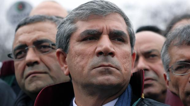Human rights lawyer Tahir Elci was head of the Diyarbakir Bar Association (AP)