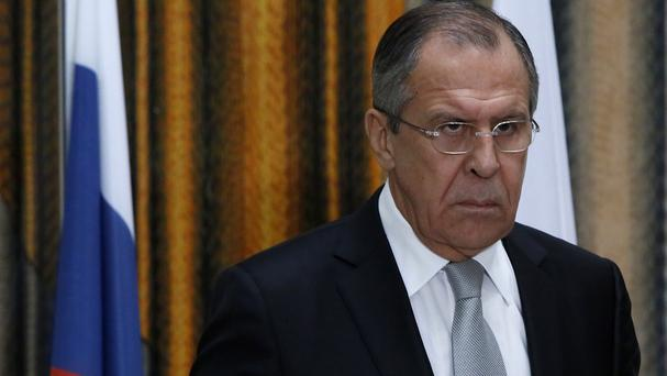 Russian foreign minister Sergey Lavrov said he will meet Mevlut Cavusoglu on the sidelines of a meeting of foreign ministers in Belgrade
