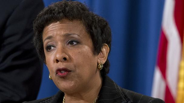 US attorney general Loretta Lynch said the scale of alleged corruption was 'unconscionable' (AP)