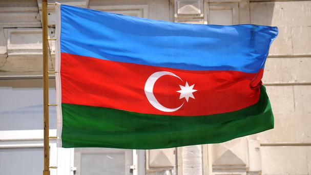 The incident happened in the Caspian Sea off Azerbaijan