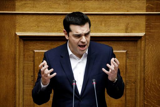 Greek PM Alexis Tsipras