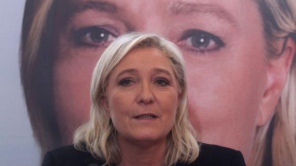 Marine Le Pen says the rise of her party is due to a