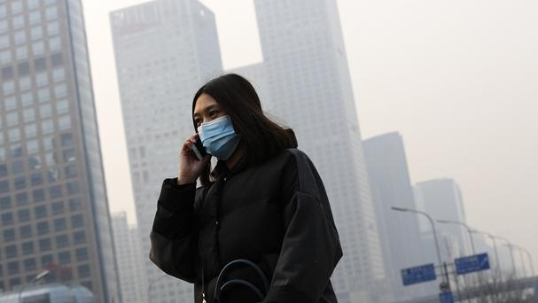 Smog has shrouded Beijing prompting authorities to issue a red alert. (AP)