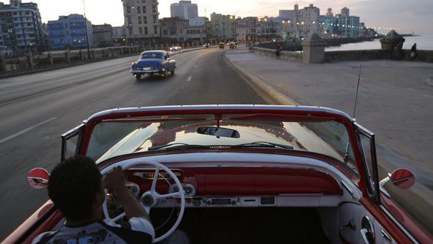 American properties in Cuba were seized by the socialist government after the 1959 revolution (AP)