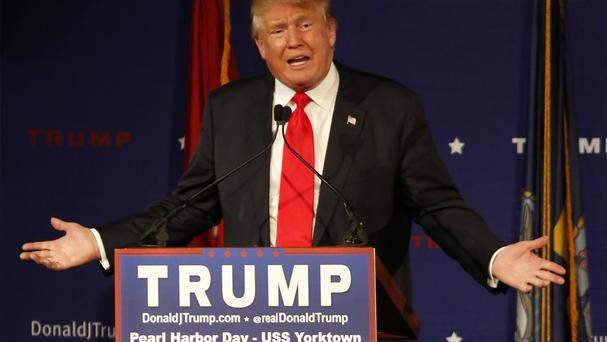 Donald Trump's campaign has been marked by inflammatory comments (AP)