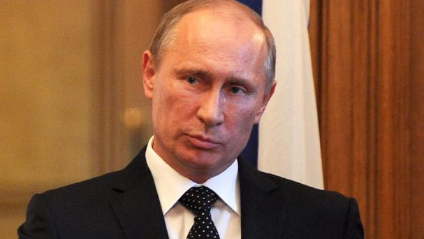 Vladimir Putin said Russia has backed some units of the Free Syrian Army