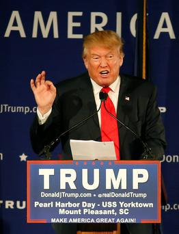 TRUMP: 'You can run an unconventional campaign, but you still have to run a campaign.'