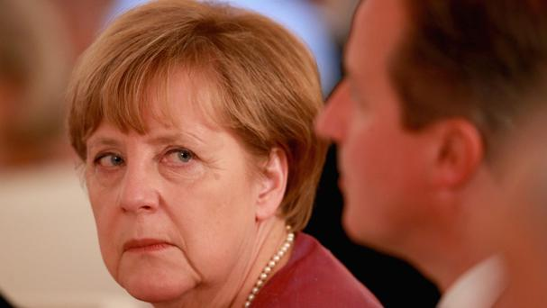 German Chancellor Angela Merkel said the Paris deal was a sign of hope