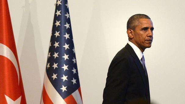 US president Barack Obama said the group's leaders cannot hide