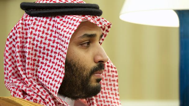 Saudi deputy crown prince and defence minister Mohammed bin Salman said the new Islamic military coalition would work to counter IS (AP)