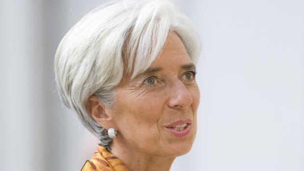 Christine Lagarde was finance minister at the time of the ruling