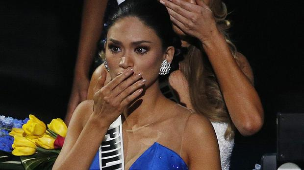 Miss Philippines Pia Alonzo Wurtzbach is finally announced as the correct Miss Universe (AP)