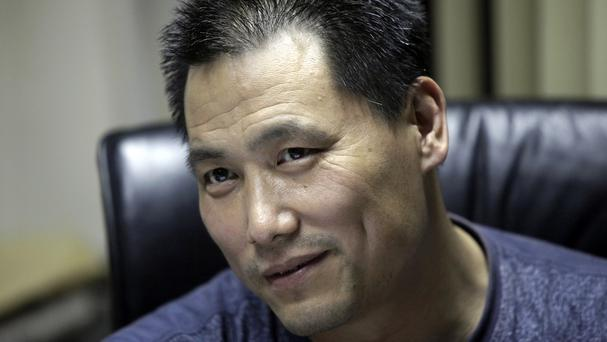 Pu Zhiqiang was found guilty and given a suspended prison sentence (AP)