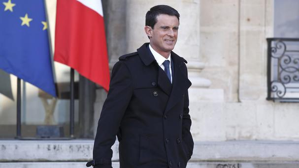 French Prime Minister Manuel Valls has vowed to revoke the citizenship of dual-nationality terrorism convicts (AP)