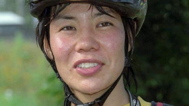 Kei Taniguchi, the first woman to win the prestigious Golden Ice Axe mountaineering award, has fallen to her death aged 43 (Kyodo News/AP)