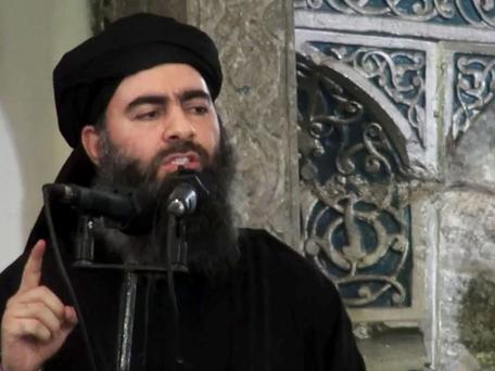 Abu Bakr al-Baghdadi: His message comes as Isil faces new setbacks