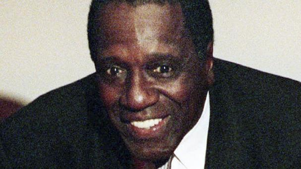 Meadowlark Lemon, part of the Harlem Globetrotters (AP)