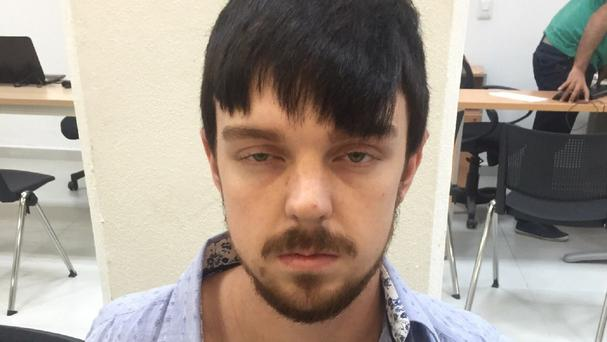 Ethan Couch in custody in Puerto Vallarta, Mexico (Jalisco state prosecutors office/AP)