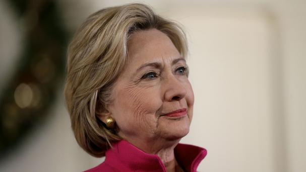Hillary Clinton says there is now enough evidence to deem IS massacres genocide (AP)