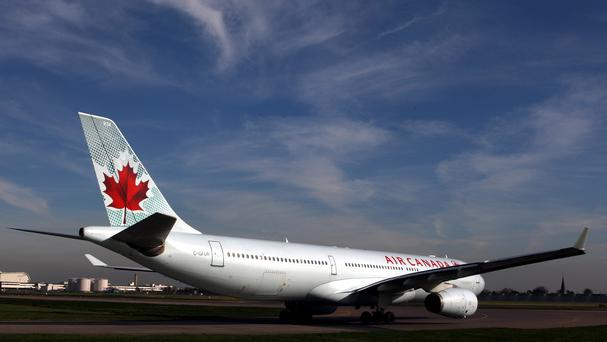 Air Canada passengers were hurt when a flight to Toronto was hit by turbulence