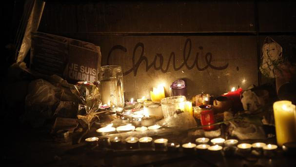 The Place de la Republique has become a shrine to those who have died in terror attacks in Paris