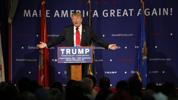 Al Qaida affiliate al Shabab used Donald Trump's words in a recruitment video (AP)